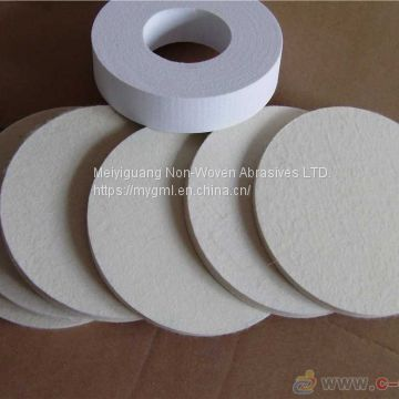 felt disc, felt wheel, wool wheel, buffing wheel, mirror finishing wheel