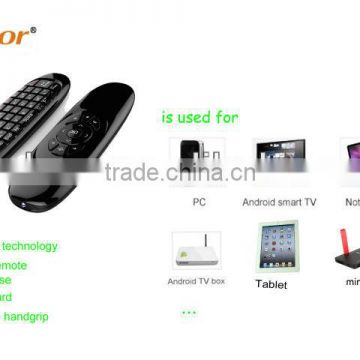 Podoor PC100 2.4GHz Air mouse with KeyboardPC, notebook, mini PC, Smart TV, Network Media Player, Tablet, Game player