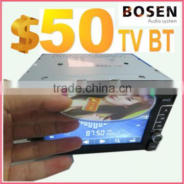 2015 year cheapest car dvd player with window system BT TV