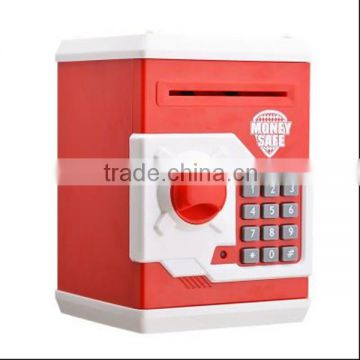 top bestsellers in china kids electronic safe money box toy atm piggy bank for child