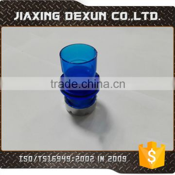 Plastic injection / OEM PC, ABS, PP, PA66, PVC, molded injection plastic pat blue chrome plating plastic part