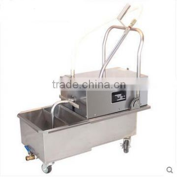 Shentop commercial fast food kitchen equipment oil filter STPP-FF4 deep fryer cooking oil filter machine