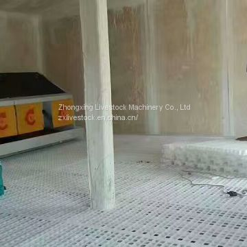 Plastic slat floor for poultry