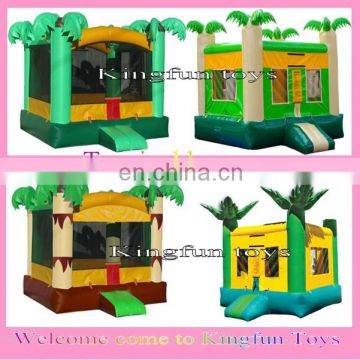 2014 hot sales inflatable tropical bounce house