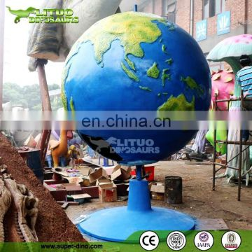 Fiberglass Globe for Museum Display