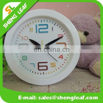 Round the clock Students' bedside clock round alarm clock