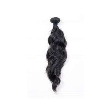 18 Inches 16 18 20 Inch Natural Tangle free Black Peruvian Human Hair Double Layers