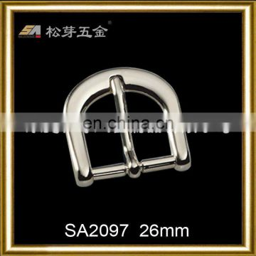 High quality custom zinc die cast meral belt hand belt buckle