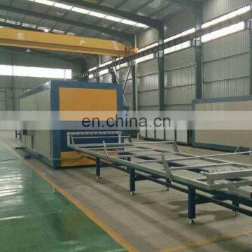 Advanced wood texture printing machine for aluminum window and door