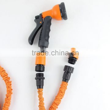 High Quality Retractable Custom Length Brass Fitting Expandable Garden Water Hose                                                                         Quality Choice