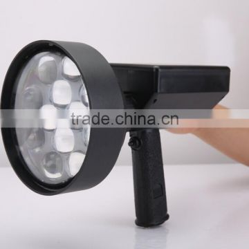 Long working time 36W led rechargeable handheld spotlights for predator hunting 4000lm