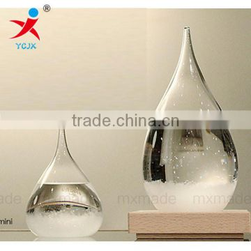 Weather forecast new colorful light storm cylinders creative gifts glass craft gifts wholesale