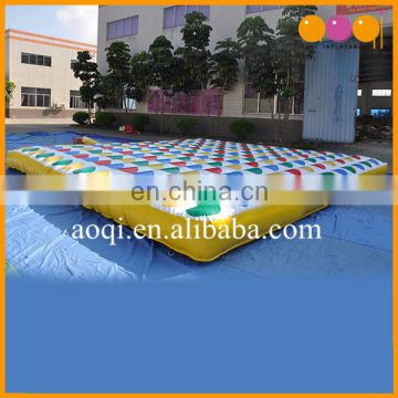 indoor party inflatable twister game family inflatable interactive twister mattress for adults