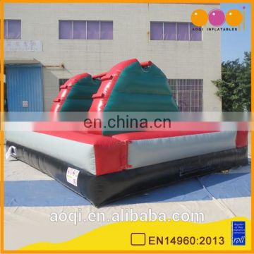 AOQI commercial use inflatable interactive games for sale