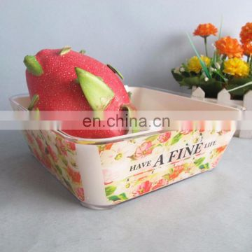 2015 Hot Sale Plastic Plate Fruit Dish