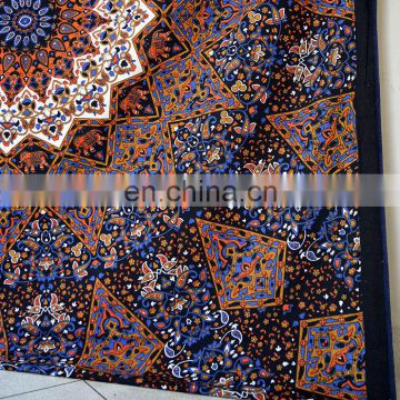 HIPPIE Psychedelic Bedspread Indian Mandala Wall Hanging Tapestry Queen Ethnic Blanket Throw Wall Hanging Wall picnic Wholesale