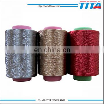 Polyester dope dyed FDY Twisted Yarn 150D/48f 350 TPM
