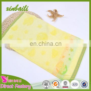 China Market organic Bamboo Fiber Washcloth Hand Towel Bamboo Baby Towel