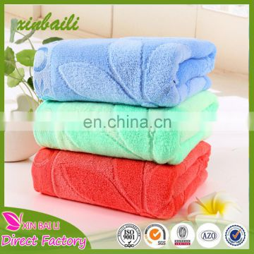 Cotton bamboo blending cutting velvet bath towel fabric