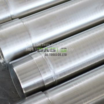 API Stainless Steel 304 304L 316L Water Well Casing Pipe