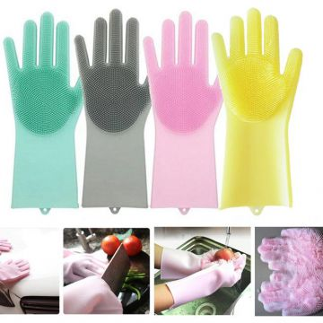 Durable Heat and Slip Resistant Long Rubber Silicone Glove whatsapp: +8615992856971