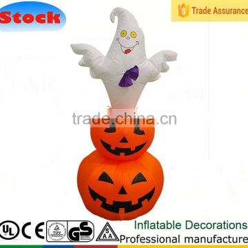 DJ-XQT102 47.2 inch Pumpkins Halloween Inflatable Yard Art outdoor Decoration led Lamps Lanterns
