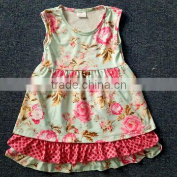 f202a48a2f84 girls floral printed birthday dresses remake beautiful baby flower ...