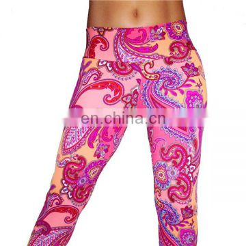Sexy ladies yoga pants hot sale in European, wholesale fitness clothing for sports