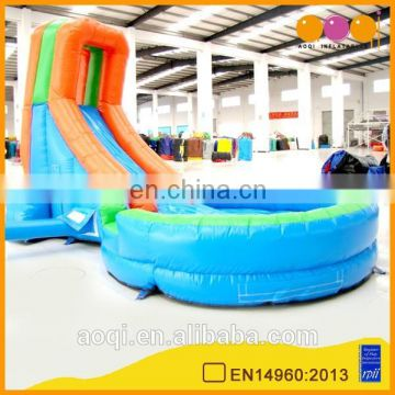 AOQI products child inflatable water slide pool with free EN14960 certificate
