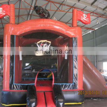 Commercial inflatable pirate ship combo bouncer NC043