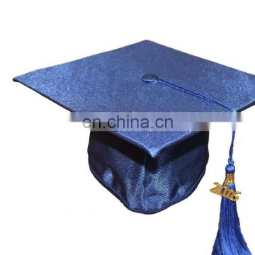 2016 New Style Graduation Cap With Tassel-Navy Blue