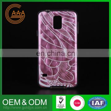 Best-Selling Logo Printed Cell Phone Accessory Wholesale Price 2015 New Tpu Pc Phone Case