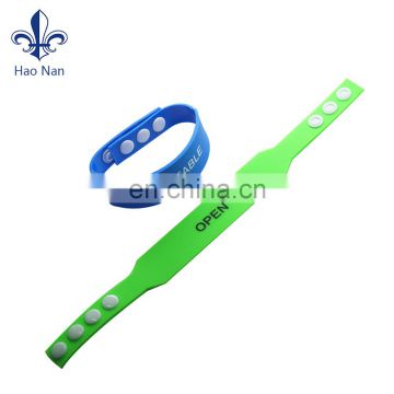 Wholesale products tyvek disposable wristband with strong adhesive closure