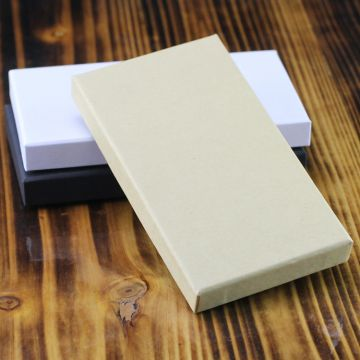 Paper packaging kraft paper world cover 6/7 mobile phone film gift box in mobile phone case
