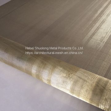 XY-R-01 GOLD WIRE MESH FOR GLASS LAMINATED