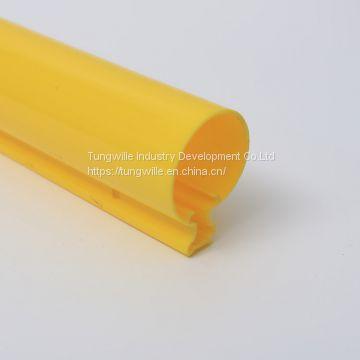 Custom PC PMMA PVC ABS PP PE materials plastic Extrusion