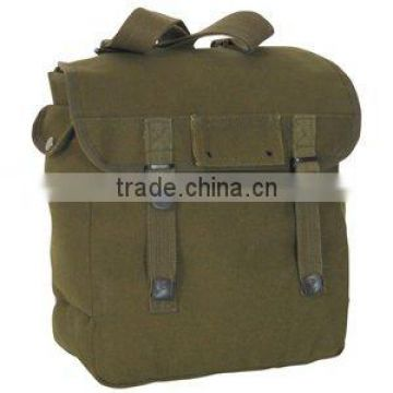 military/army cotton infused bags/canvas bag back pack