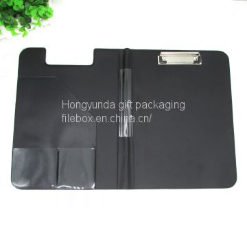 A4 double size clip board folding clipboard plastic file clipboard with padding