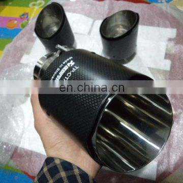 Akrapovic newest carbon fiber muffler pipe exhaust muffler tip