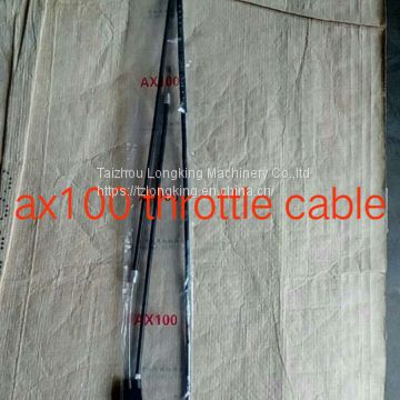 ax100 throttle cable,motorcycle parts/accessories