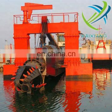 low price   Hydraulic River gold Dredger Cutter Suction in sale from China