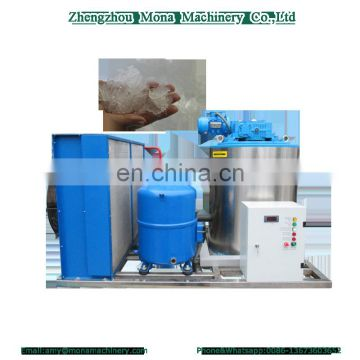 Full automatic Snow Flake Ice Making Machine with high efficient