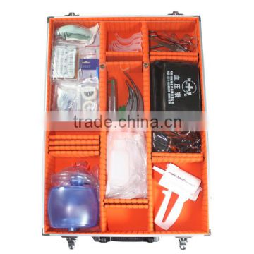 Trauma Aluminum Medical First Aid Kit for Resuscitation 07F