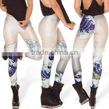 Wholesale 90% polyester 10% spandex pants girls yoga pants sex girl