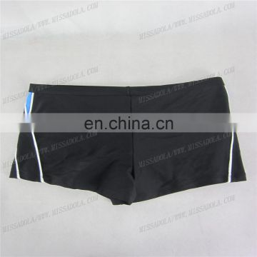 miss adola YD - SM - T02A black latest sexy men swimwear hot swim trunk