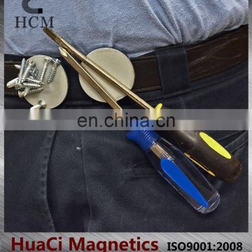 Handyman Magnetic Holder for Bolts and Nuts with Belt Clip