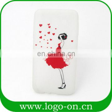 Hot selling different designs fluorescent phone cover