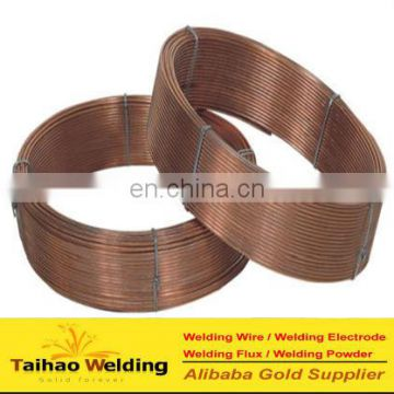 Factory supply Hardfacing 3.2mm submerged arc welding wire AWS EM12K(Skype/wechat: taihao-vivian)