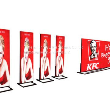 Digital LED Poster, High density digial LED media player, Jointable Floor standing LED Display