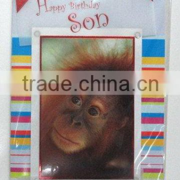 new product handmade happy birthday greeting card with factory price